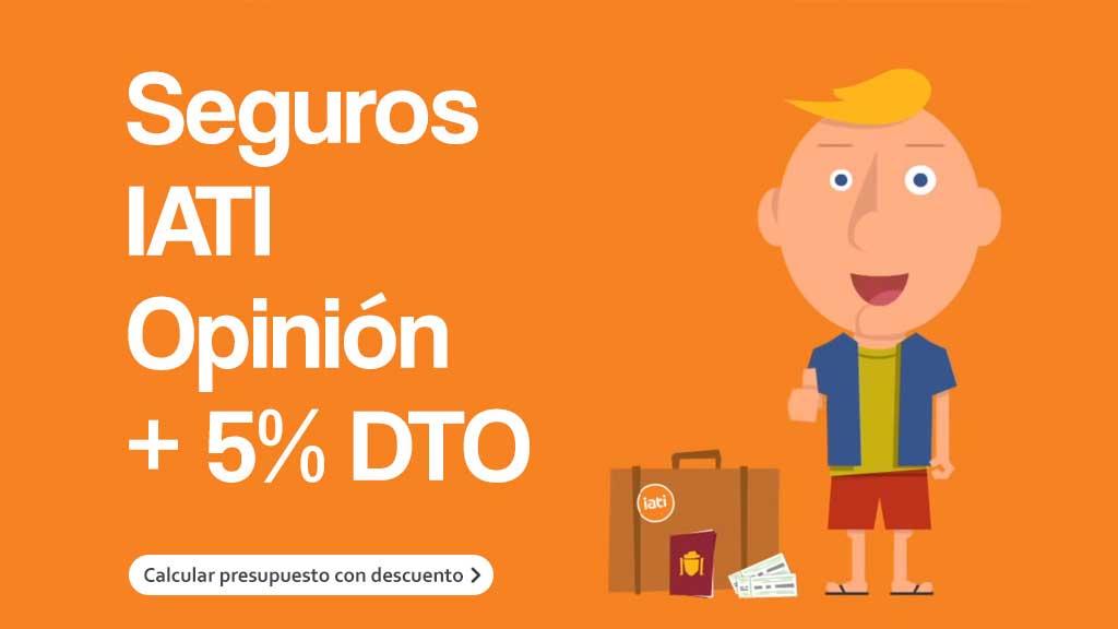 5% de descuento en Iati Seguros de Viaje