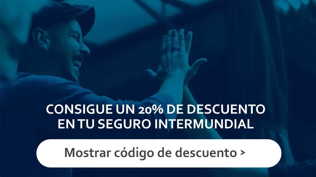 20% de descuento en Intermundial