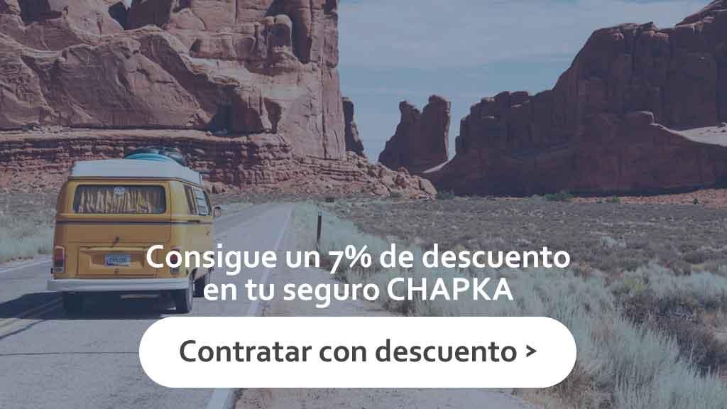 Descuento codigo promocional Chapka
