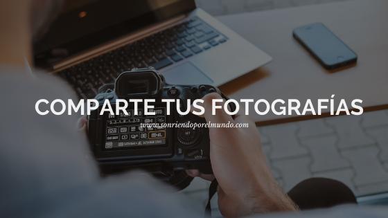 Comparte tus fotografías