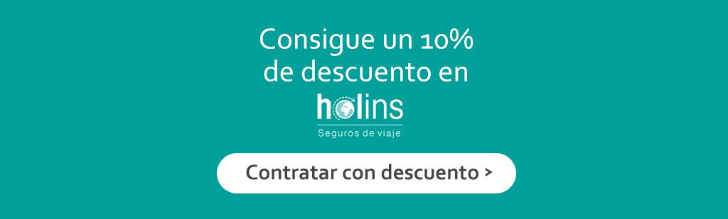 10% de descuento en Holins
