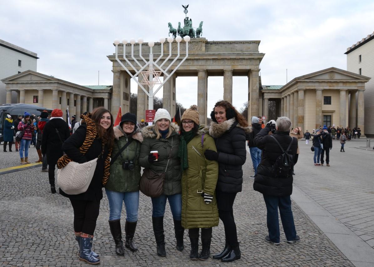 Puerta de Brandenburgo.