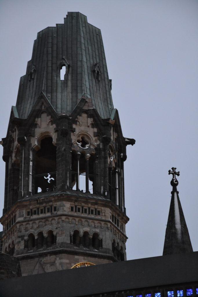 Cúpula de la Iglesia Memorial Kaiser Wilhelm.