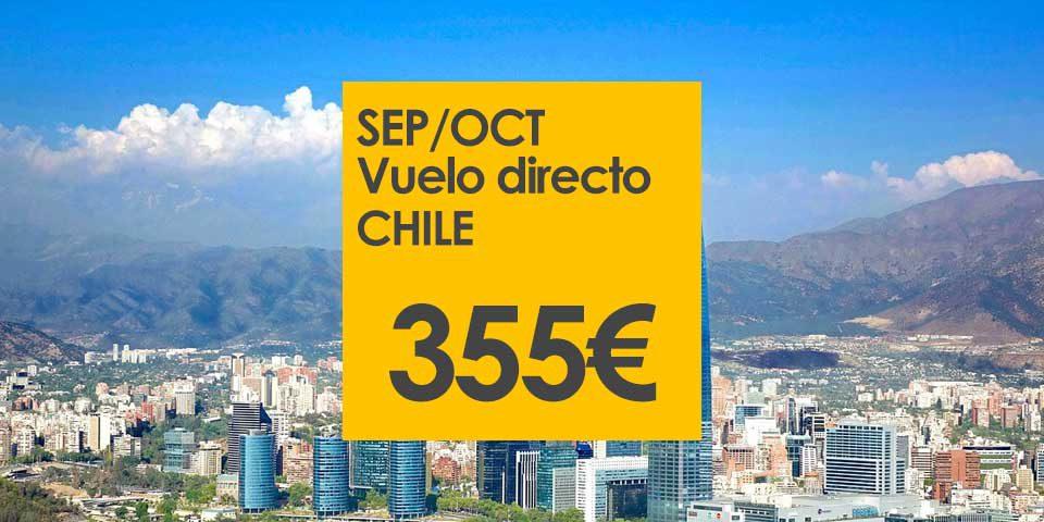 vuelo directo chile