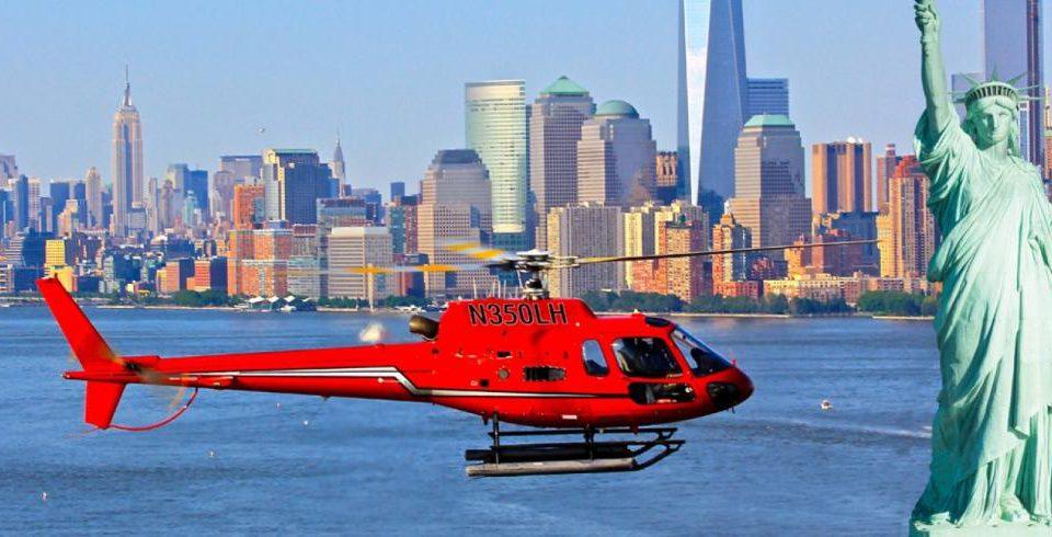 paseo en helicóptero por Nueva York