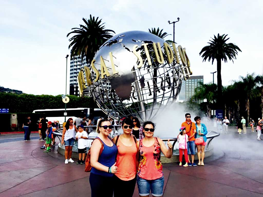 Día divertido pasamos en Universal Studios.